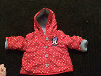 Baby girl jacket size 3-6 months