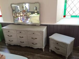 Amazing Detailed French Provincial Dresser Set