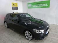 BLACK BMW 1 SERIES 2.0 120D M SPORT ***FROM £281 PER MONTH***