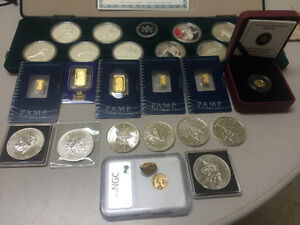Looking for a bit of gold or silver bullion