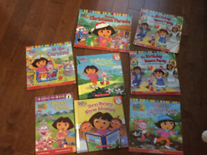 Collection of Dora books