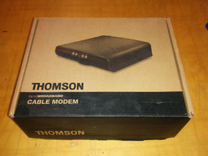 Cable modem (bell, all cable providers, ECT