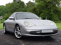 Porsche 911 3.6 996 Carrera 2 Tiptronic S 2dr (silver) 2003