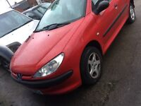 2003 Peugeot 206 style 1.2 spares