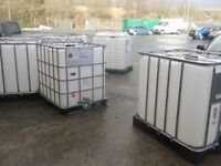 IBC 1000 litre water container/ tank.