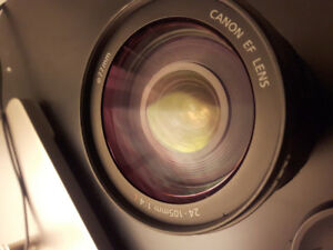 CANON 24 TO 105 MM EF L Series Lens