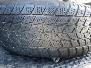 4 TOYO WINTER TIRES ON RIM 215 65 R16