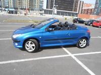2002 Peugeot 206 CC 1.6 S 2dr