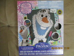 NEW Olaf craft kit
