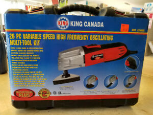 King Canada 20 piece  Oscillating Multi-Tool Kit