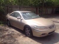 2001 Honda Accord Coupe FOR PARTS