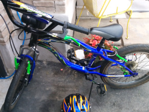 Fast and furious youth bike and mongoose helmet