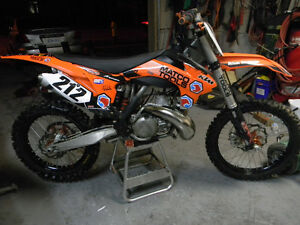 2013 KTM SX250 MINT CONDITION WITH OWNERSHIP