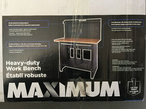 MAXIMUM heavy-duty workbench