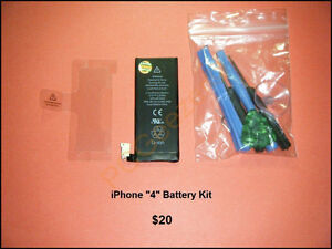 iPhone.... Battery Kits with Tools