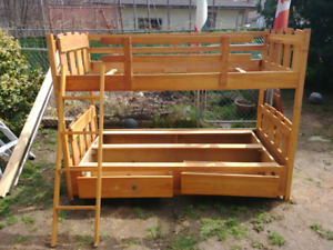 Used Bunk bed set