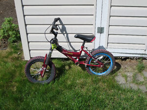 14 inch Shift n Gears Bike for parts