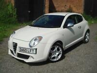 Alfa Romeo MiTo 1.4 Veloce, ONLY 47K, F.S.H, BLUETOOTH, 6 MONTHS WARRANTY