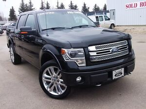 2013 Ford F-150 LIMITED 6.2L CERTIFIED PRE OWNED