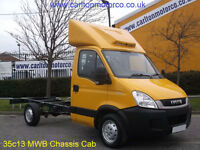 2010/60 Iveco Daily 35S13 MWB Chassis Cab, Ideal Recovery,Dropside,Tipper,