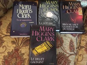 Livre de l'auteur Mary Higgins Clark