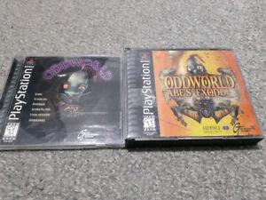 Oddworld games PS1