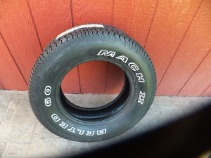 FOUR BRAND NEW LETTERED AUTO TIRES Kitchener / Waterloo Kitchener Area image 1