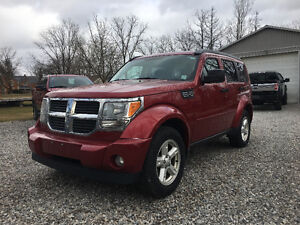 2007 Dodge Nitro 4X4 LEATHER