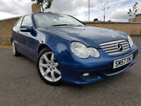 1 OWNER - MERCEDES C200 CDI SE AUTO, LOW MILEAGE, FULL SERVICE HISTORY