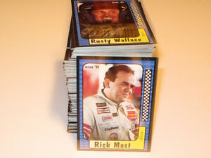 1991 240 Card Set Maxx Nascar Race Cards