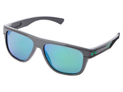 Oakley Breadbox Toxic Blast Sunglasses OO9199-29 Dark Grey/Jade (Dark Green Oakley Sunglasses)