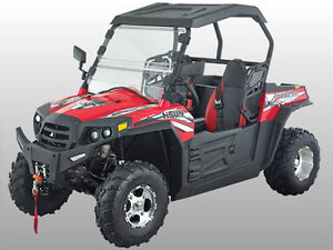 "New UTV 250cc Hisun EFI at ""ATV Edmonton"" Store on X-Mas Sale"