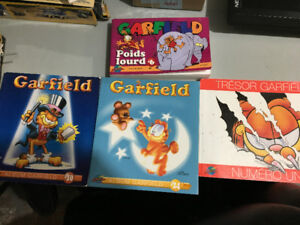 4 X livres Garfield / BD chat bande dessinées