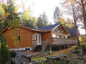 Fractional Ownership Log Cottage for Sale - 5 wks/Yr for Life