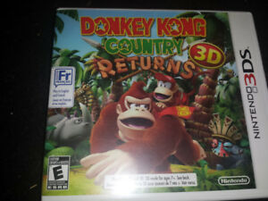 Donkey Kong Country Returns 3DS for Nintendo 3DS