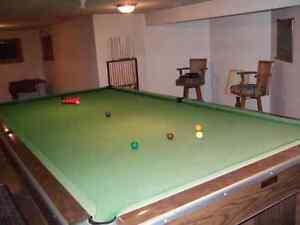 Full Size Billiard Table 6ft by 12 ft
