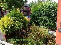 Urban Gardening - Lawn Mowing - Hedge Trimming - Garden Maintenance