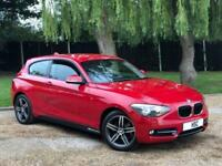 2012 62 BMW 1 SERIES 2.0 118D SPORT 3D AUTO 141 BHP DIESEL