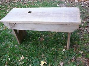 Rustic Barn Board Benches or Coffee Table - Plant Stand