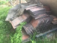 Clay roof tiles free must go tomorrow