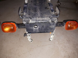 HONDA CBR 929 REAR SUB FRAME, WITH TRAY & SIGNALS
