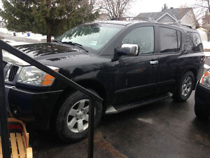 Nissan Armada Black low km