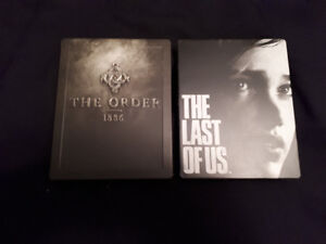 2 STEEL BOOK PS4 GAMES