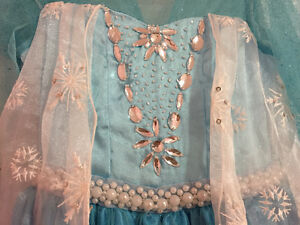 Elsa Frozen princess dress - size 4T Cambridge Kitchener Area image 3