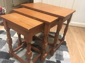 Nest of Tables - Pine