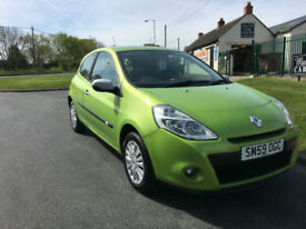 59 RENAULT CLIO I-MUSIC 37000 MILES VERY CLEAN CAR NO DEPOSIT FROM £21.74 A WEEK