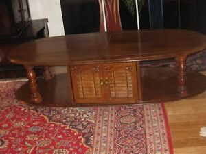 Coffee Table & Display Case
