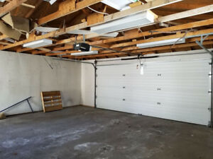 Do it yourself garage parking storage units for rent in large double plus size garage available for storage in nw solutioingenieria Choice Image