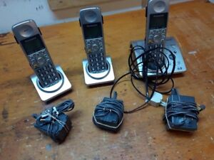 Three-Handset Mobile Telephone