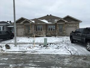 Brand new semidetached for rent